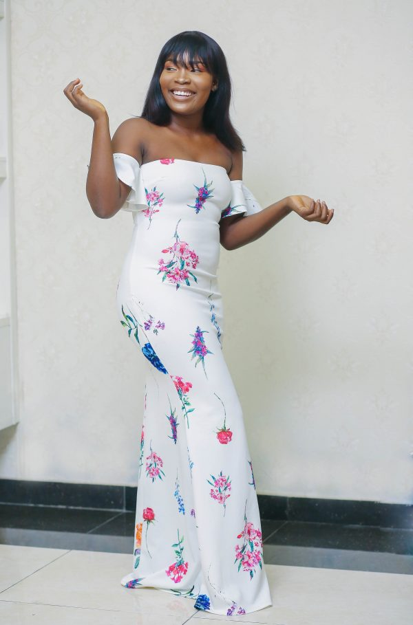 Amife Maxi Flowery Gown 3