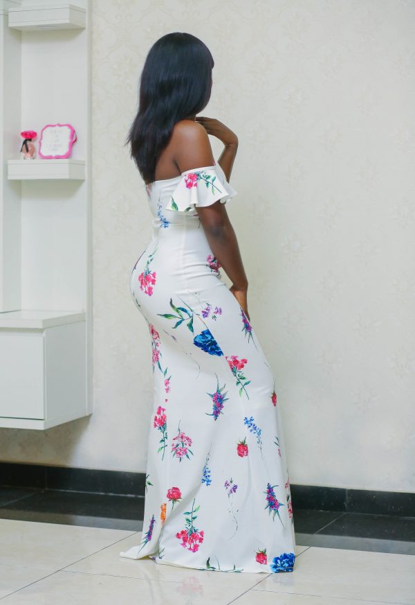 Amife Maxi Flowery Gown 4